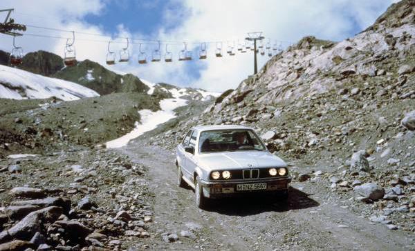 BMW Celebra 30 Años De Tracción Total Recordando El BMW 325i Allrad