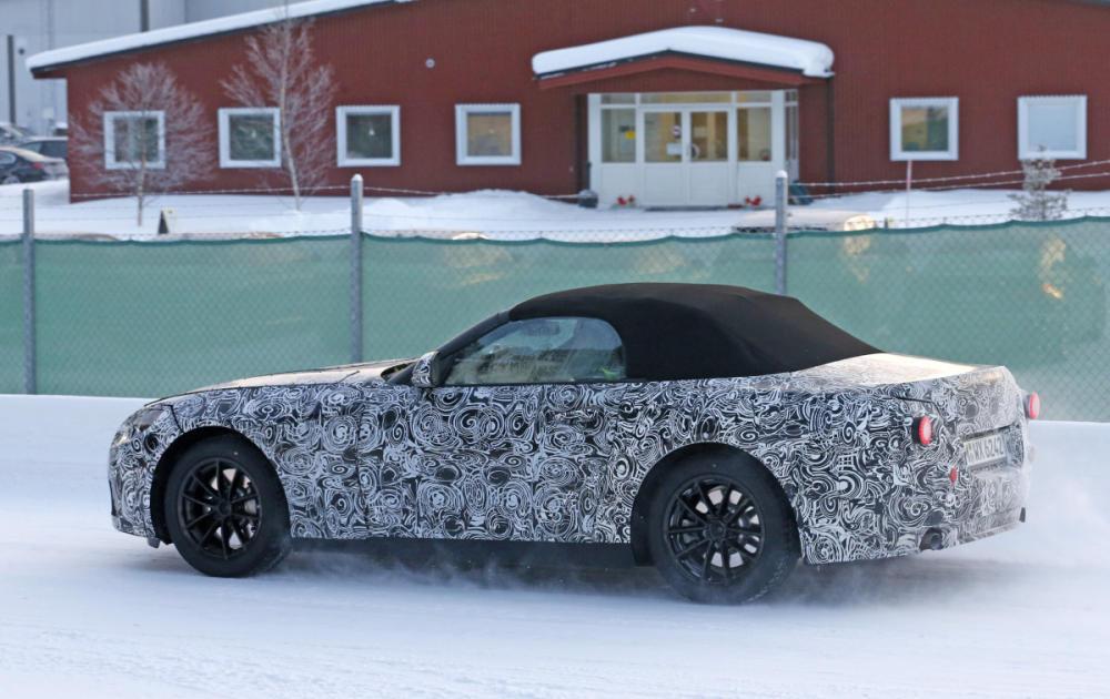 BMW Z5, Cazado En Fase De Pruebas. Así Será El Próximo Roadster De BMW