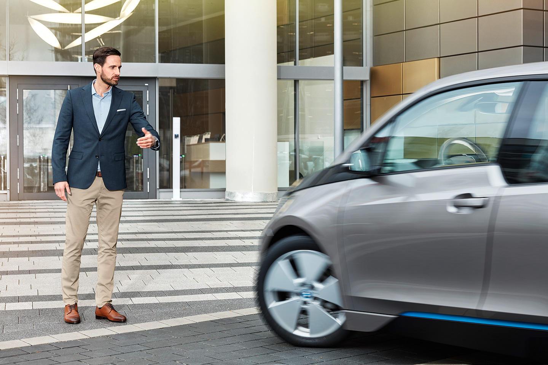 Gesture Control Parking: Aparca Tu BMW A Través De Gestos