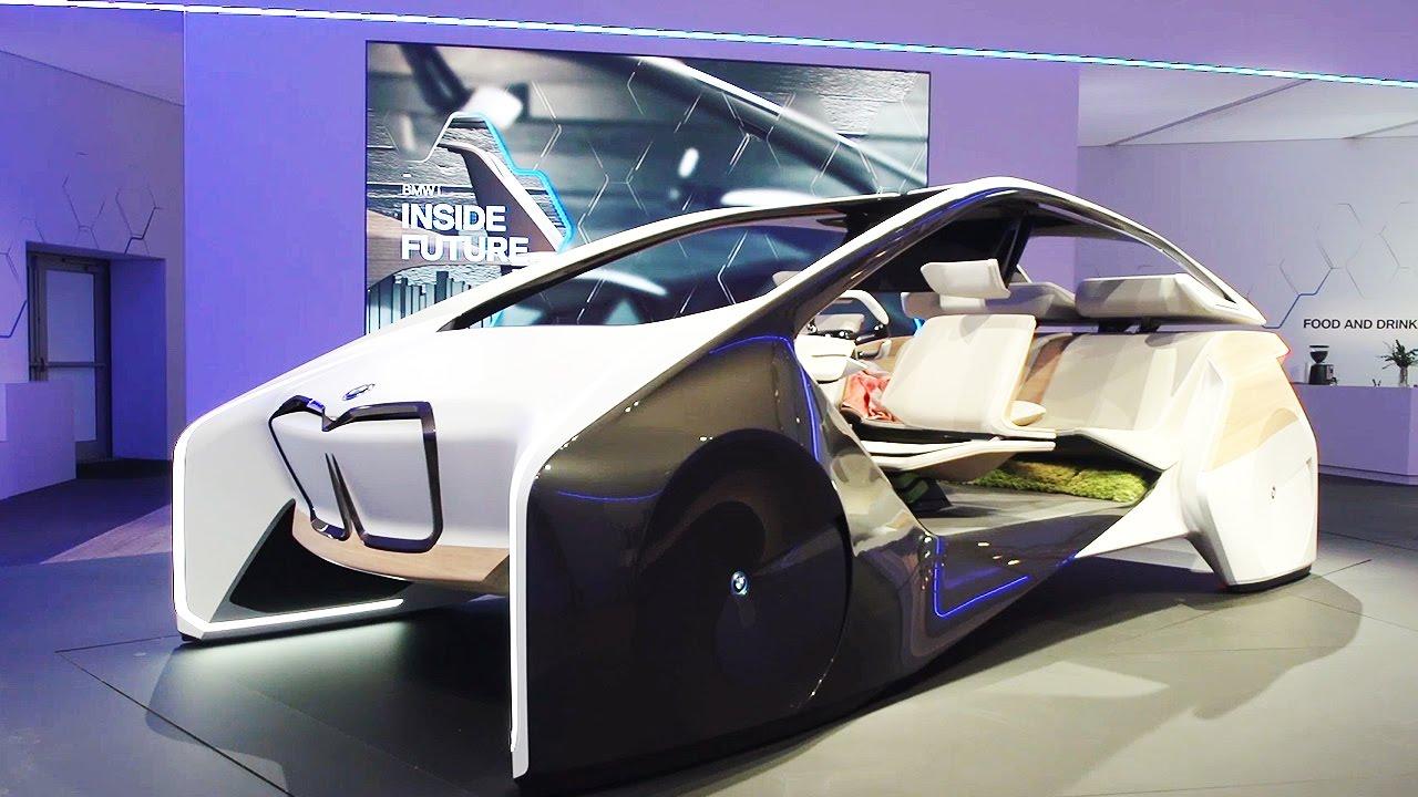 BMW I Inside Future Sculpture, Los Interiores Futurísticos Presentados En El CES 2017