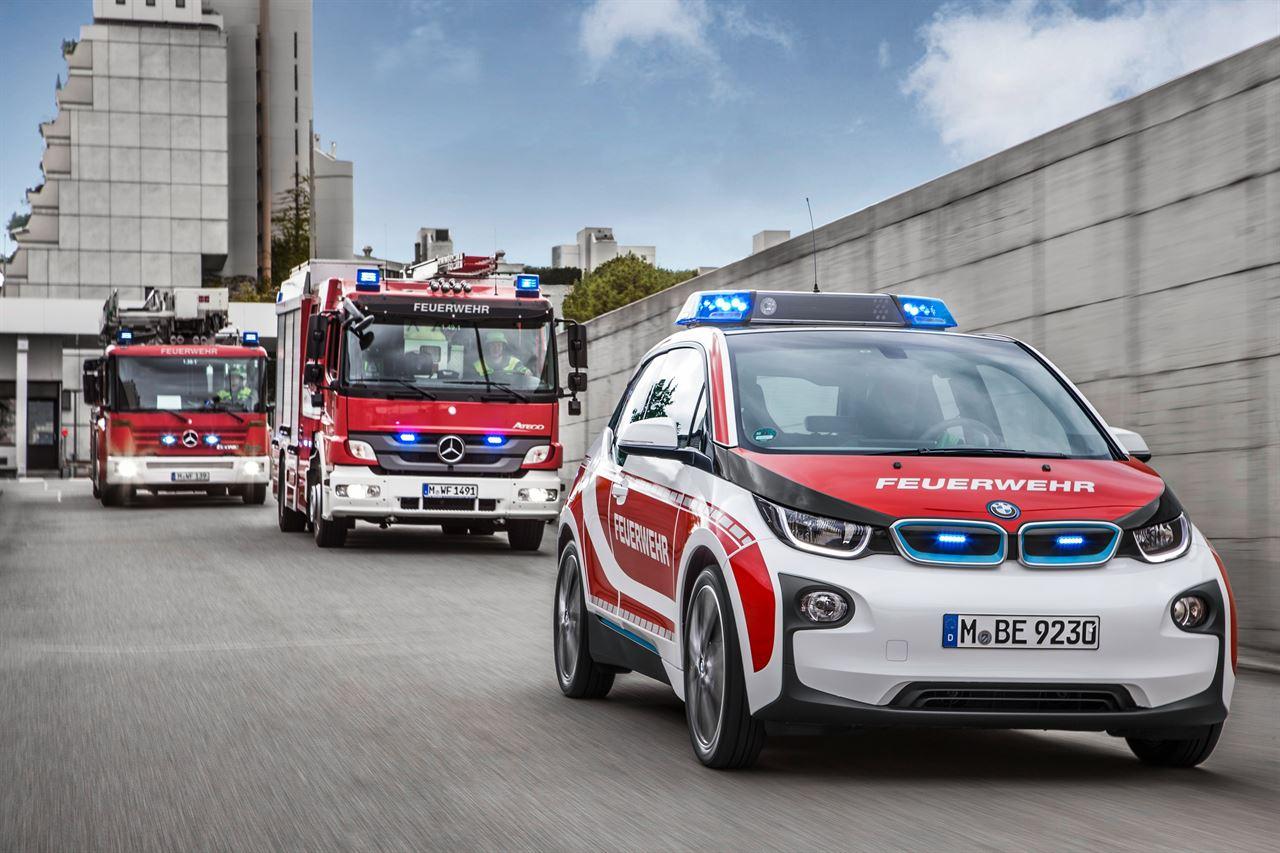 El BMW I3 Se Incorpora A Los Servicios De Emergencia De Varios Países