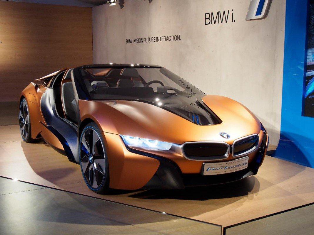 BMW I8 Spyder, Presentado En El CES 2016 De Las Vegas