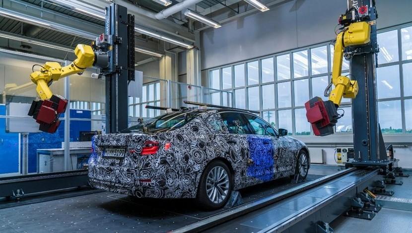 Así es como luce el nuevo BMW Serie 5 en su fase de desarrollo