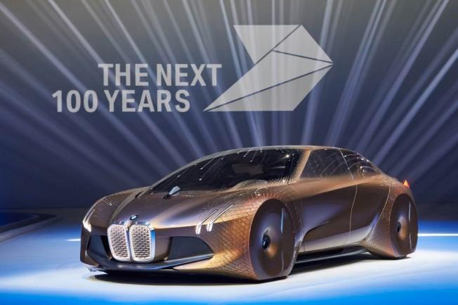 BMW Cumple 100 Años Y Presenta El Prototipo BMW Vision Next 100