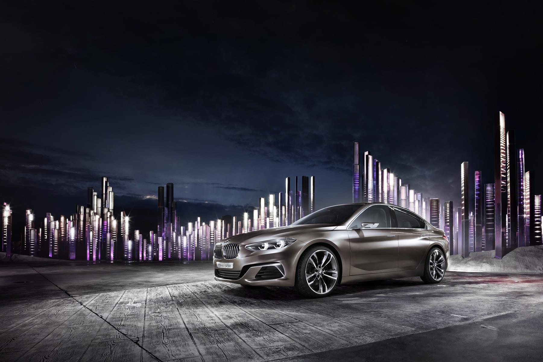 BMW Presenta El Concept Compact Sedán En El Auto Guangzhou 2015