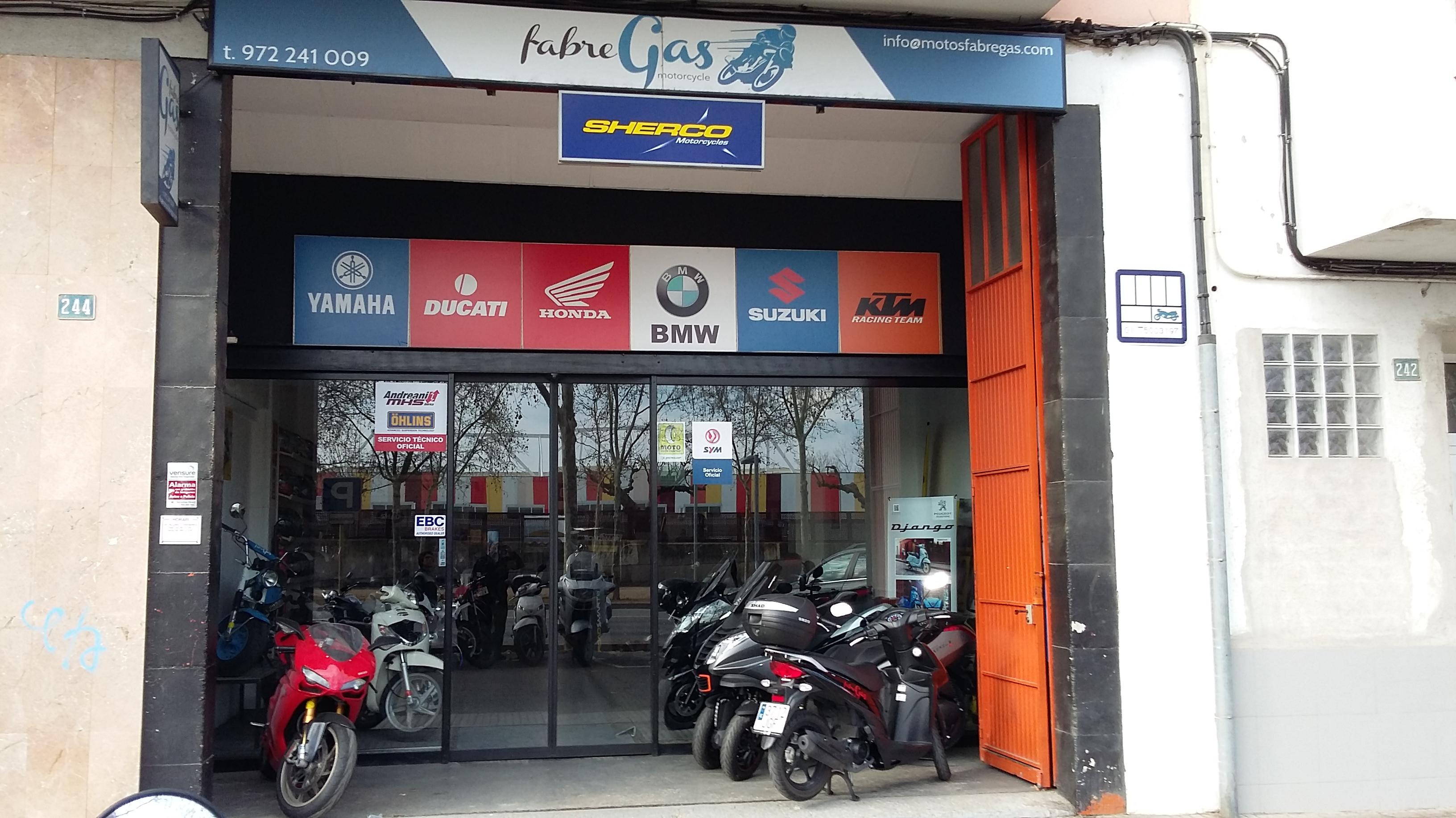 Motos FabreGas, Nuevo Asociado ISTA De Motos En Salt (Girona)