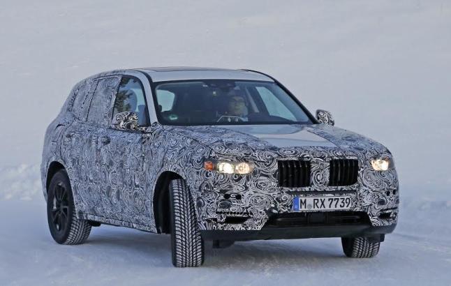 Fotos Espía De La Tercera Generación Del BMW X3
