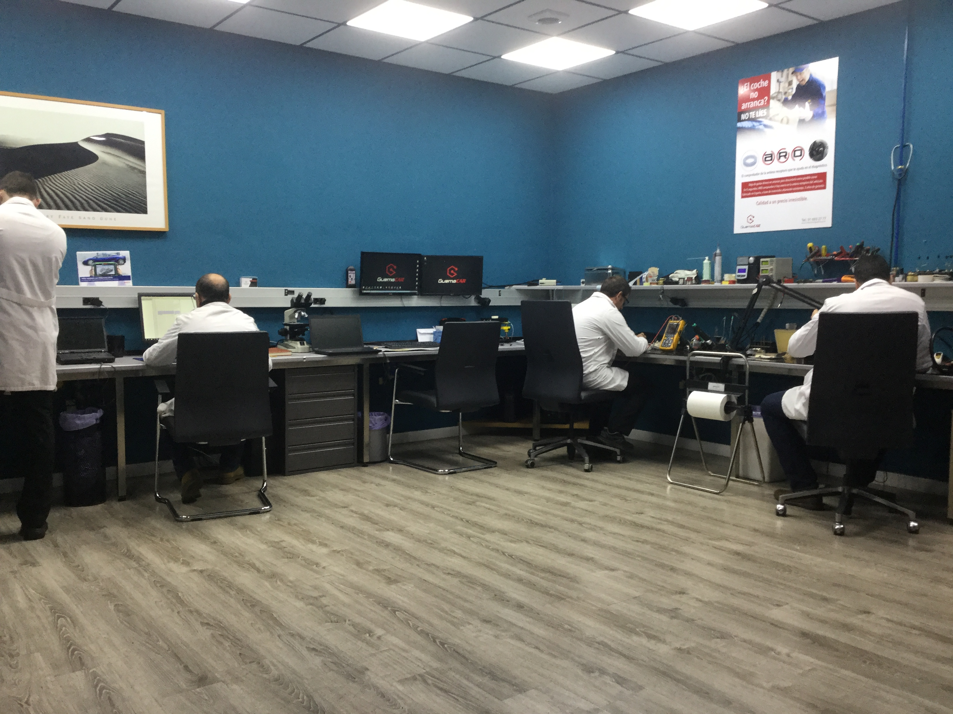 Soluciones guemacar nuevo centro asociado ista en legan s for Centro asociado de madrid