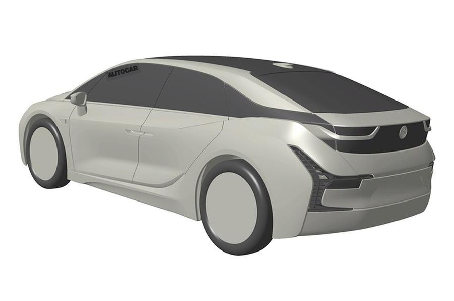 Parece que el futuro BMW i5 ha sido registrado en una oficina de patentes