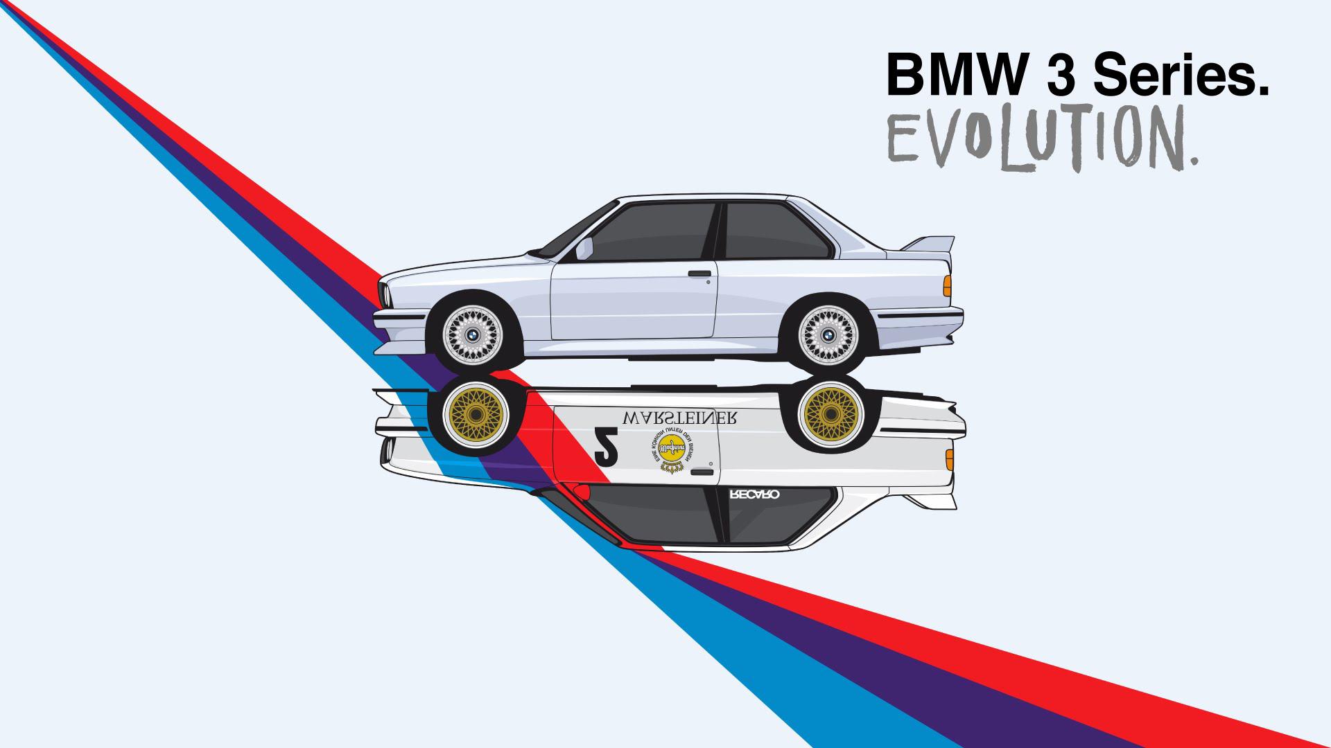 La Evolución Del BMW Serie 3 En Un Minuto Y Medio. ¿Con Cuál Os Quedáis?