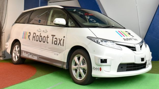 Robot Taxi 01