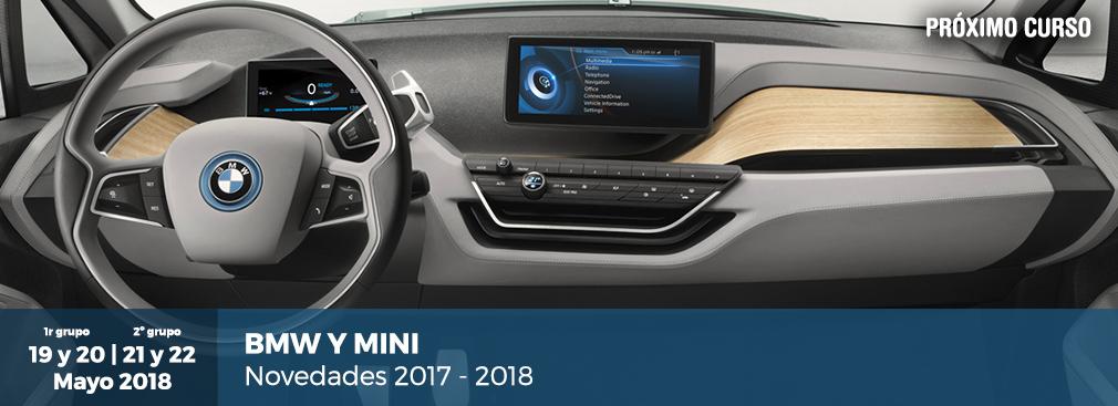 BMW Y MINI: Novedades 2017-2018, El Próximo Curso De Formación Para Nuestros Asociados