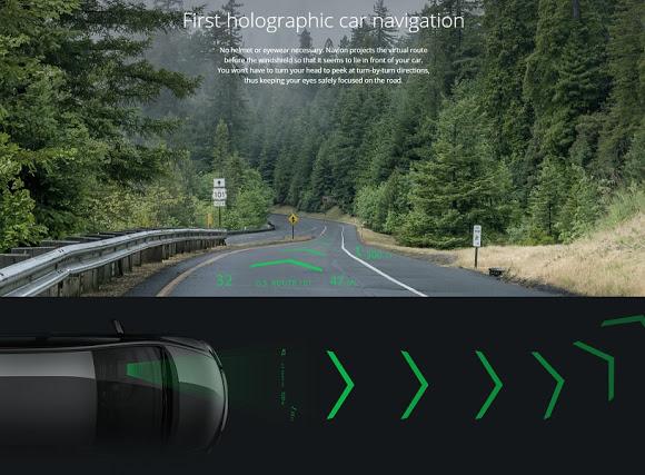 navegación holográfica