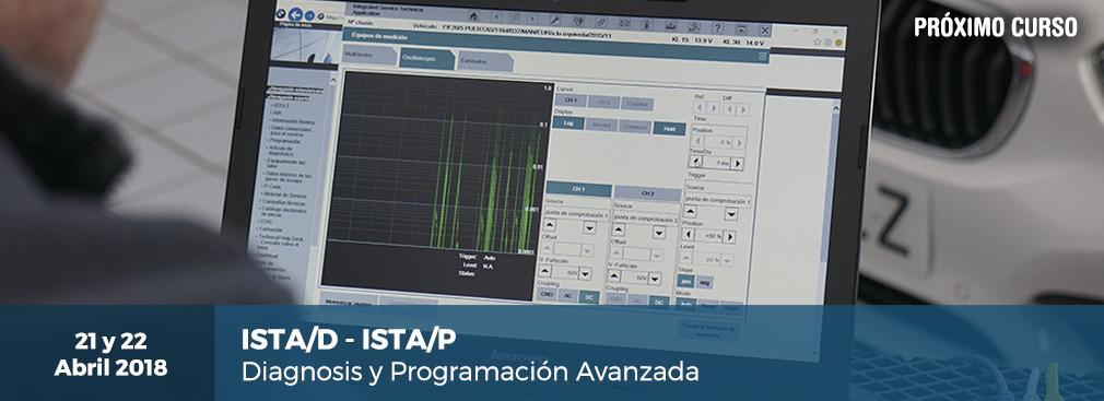 "Próximo Curso: ""ISTA-D E ISTA-P: Diagnosis Y Programación Avanzada"""