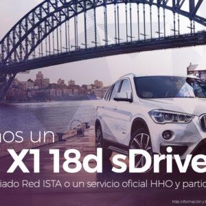 ¡Participa En El Sorteo De Un BMW X1!